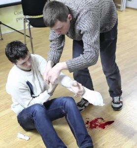 Перелом с кровотечением