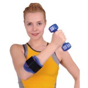 Поддержка локтевого сустава во время тренировок