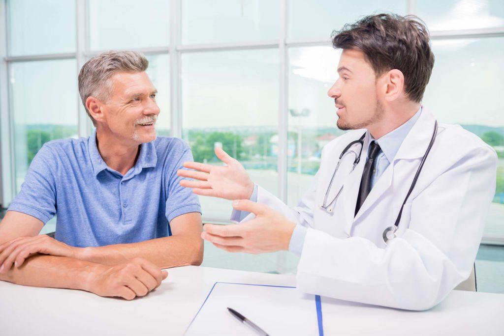 Консультация пациента у врача