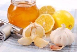 Лимонно-чесночная настойка