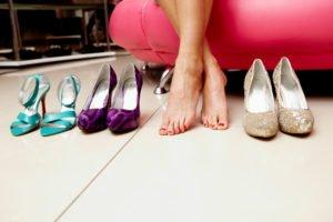 Неудобная и узкая обувь