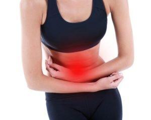 Спазм в области желудка