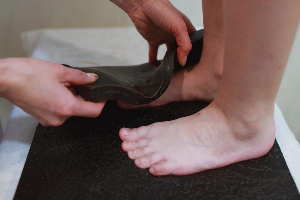 Лепешка на суставы ног