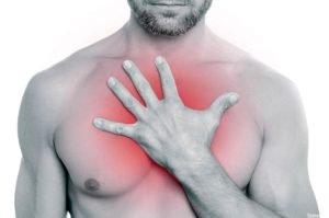 Боль при остеохондрозе в грудном отделе позвоночника