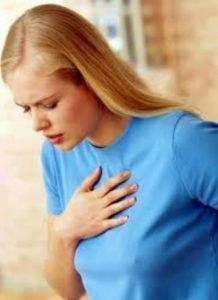 Затруднение дыхание