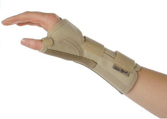 Бандаж для кисти руки при переломе
