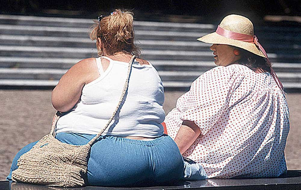 Ожирение плохо влияет на суставы