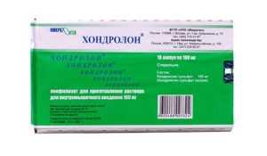Применение препарата Хондролон для лечения суставов