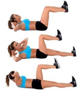 Колено-локтевой комплекс упражнений