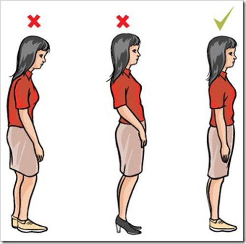 Как держать спину всегда прямо при сколиозеи сколиотической осанке
