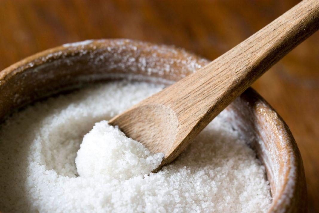 Соль для массажа лучше использовать мелкую