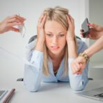 Частое нахождение в стрессовых ситуациях