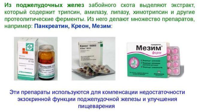 Основное действующее вещество препарата