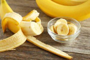 Компресс из мякоти банана