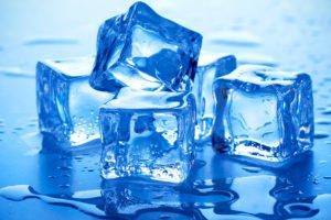 Массирование со льдом