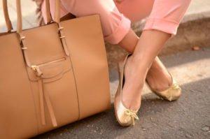 Носка удобной обуви