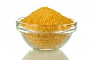 Прием сухого желатина