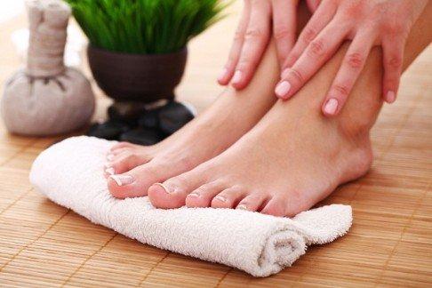 Рецепты народной медицины для ног