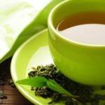 Слабый зеленый чай без сахара