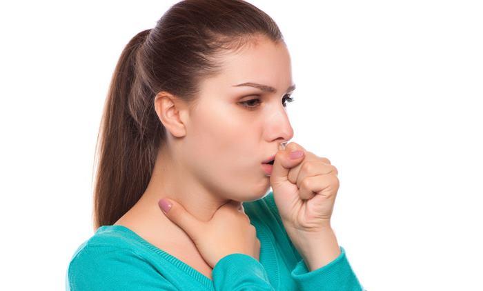 Сухой кашель большой интенсивности