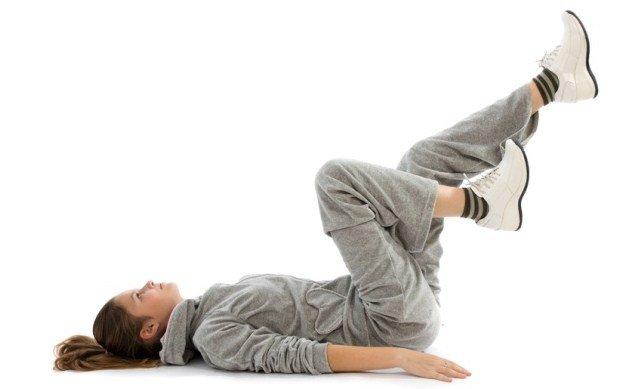 Зарядка, укрепляющая колени