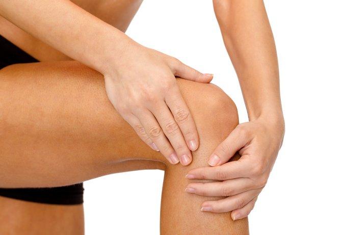 Самомассаж колена