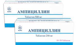 Действие и применение антибиотика Ампициллин