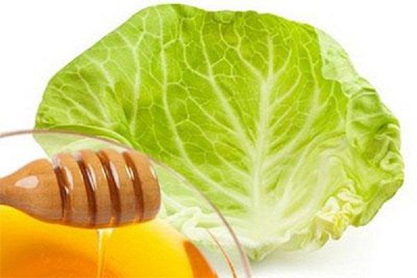 Компрессы из капустной листвы и меда