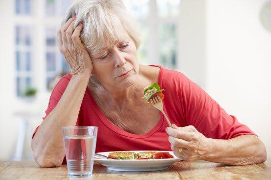 Внезапное ухудшение аппетита