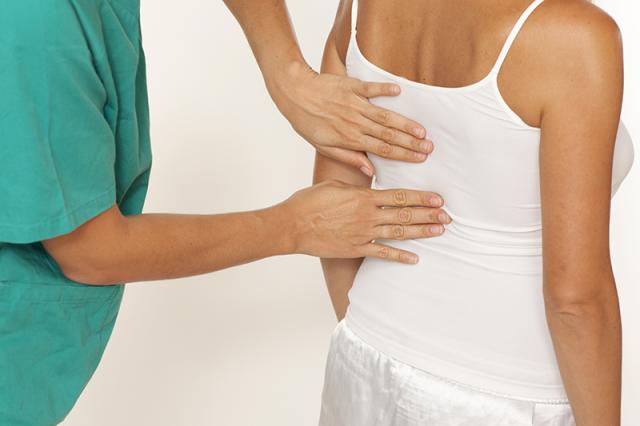 Диагностика грудного радикулита