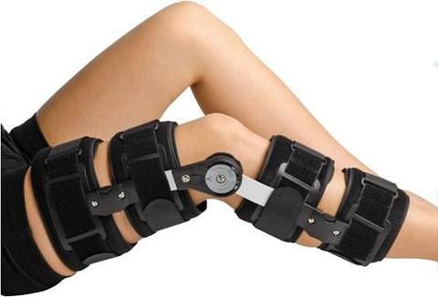 Ношения ортезов - ортопедических приспособлений