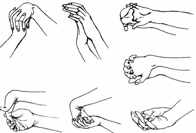 Разминка рук