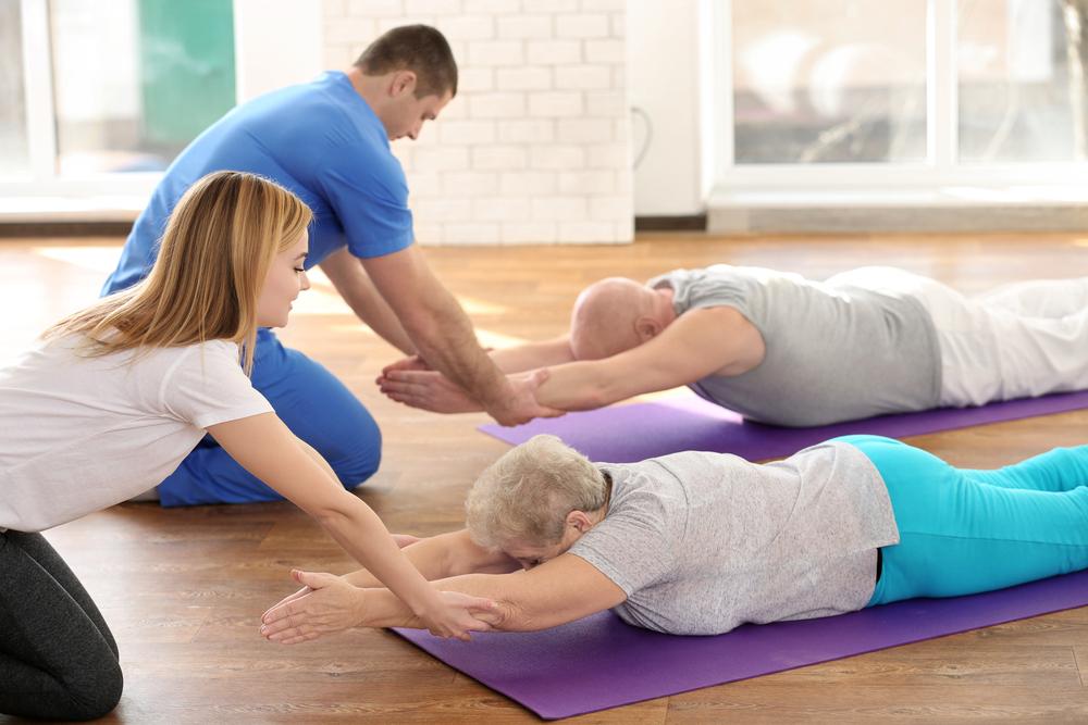 Цель лечебной физкультуры — укрепить мышечный корсет