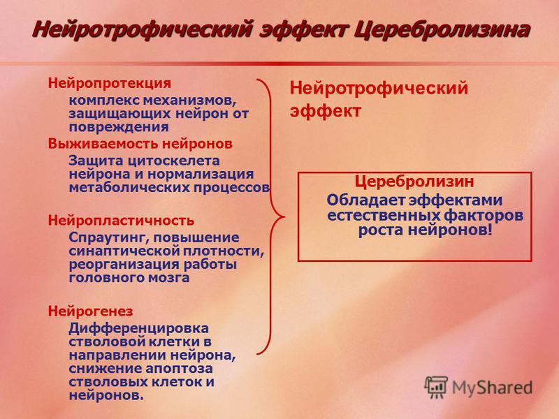 Нейротрофический эффект