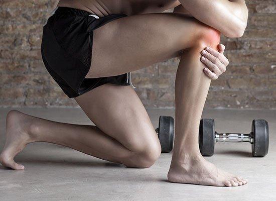 Боли в коленном суставе во время приседаний