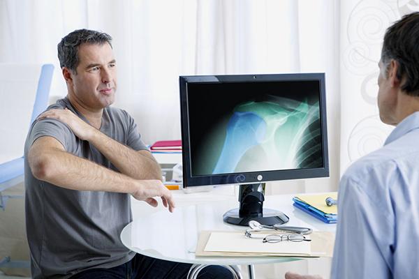 Ушиб плеча диагностика