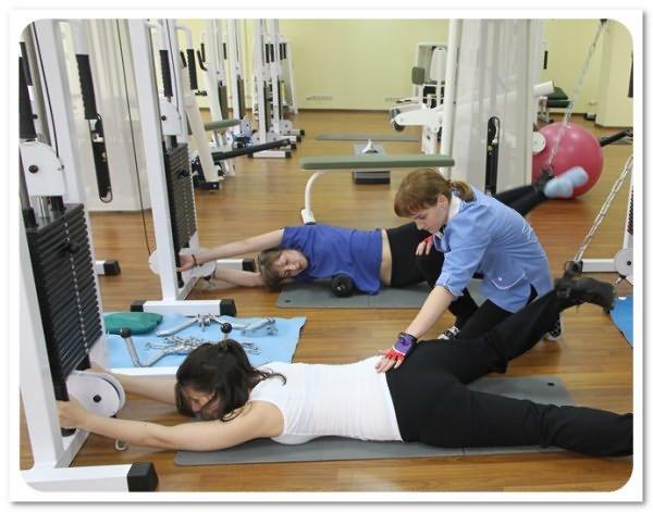 В курс лечения входит специальная гимнастика